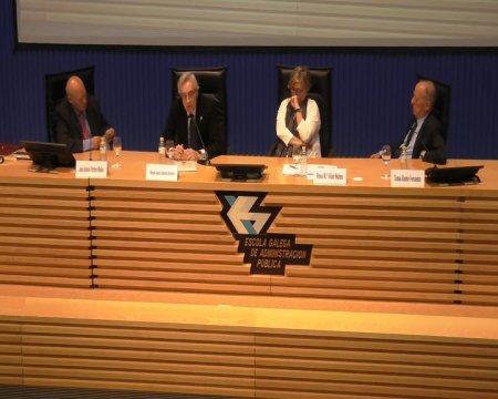 Mesa redonda: A Carta Magna como punto de inflexion na historia de España - Xornada sobre A Constitución española no seu corenta aniversario